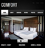 Hotels Facebook HTML CMS  Template 45135