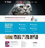 Animals & Pets Website  Template 45139