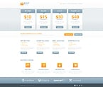 Web Hosting Website  Template 45141