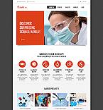 Science Website  Template 45150