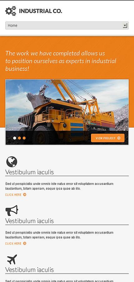 WordPress Theme/Template 45160 Main Page Screenshot