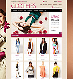 Fashion OpenCart  Template 45170