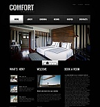 Hotels Moto CMS HTML  Template 45180