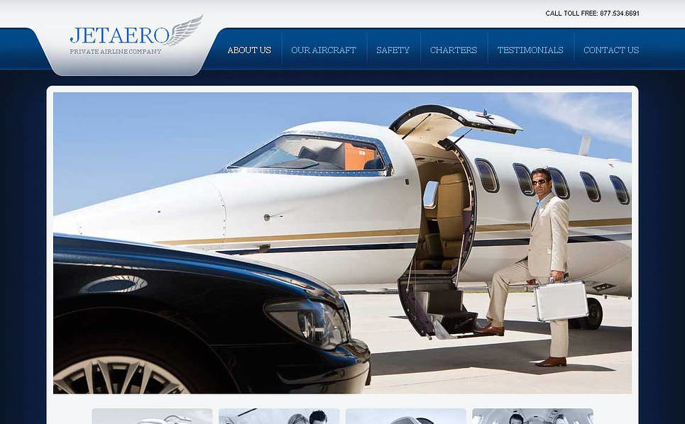 Szablon Moto CMS HTML #45185 na temat: bilety lotnicze New Screenshots BIG