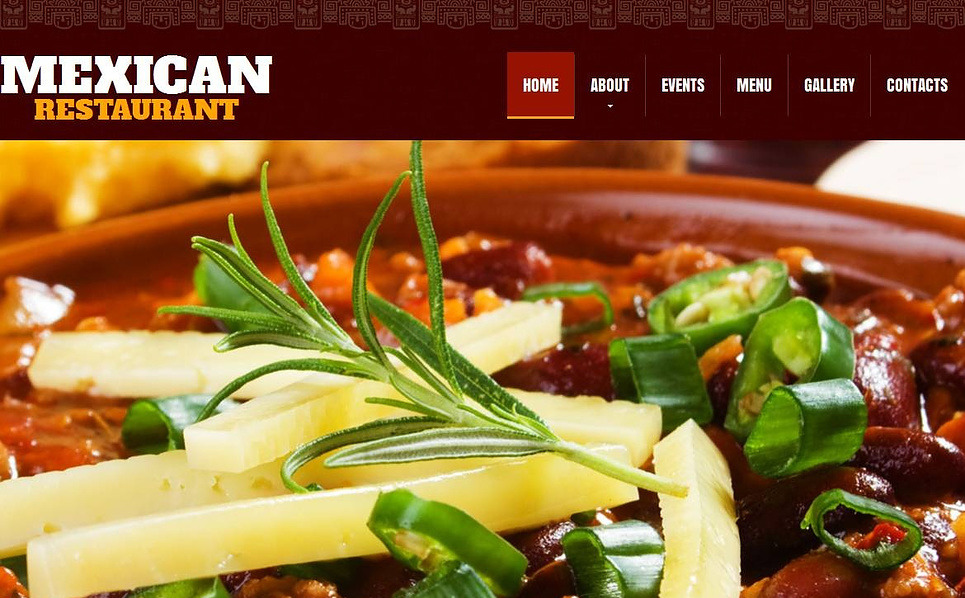 Premium Mexican Restaurant Templates Moto Cms Html Şablon New Screenshots BIG
