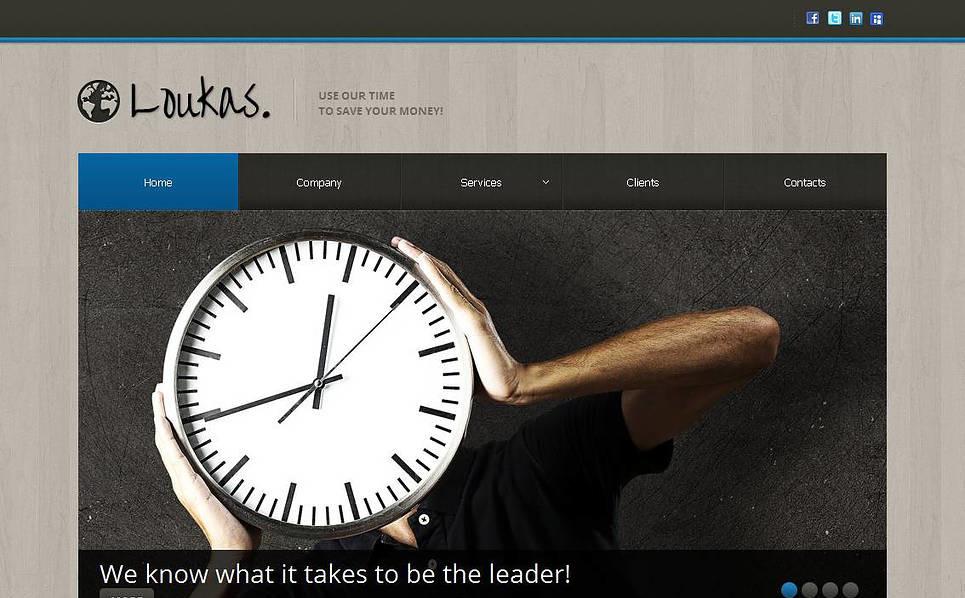 MotoCMS HTML шаблон на тему фінансова консультація New Screenshots BIG