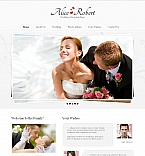 Wedding Moto CMS HTML  Template 45195
