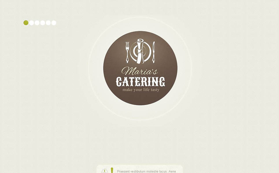 Plantilla Moto CMS HTML #45196 para Sitio de Catering New Screenshots BIG
