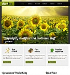 Agriculture Facebook HTML CMS  Template 45198