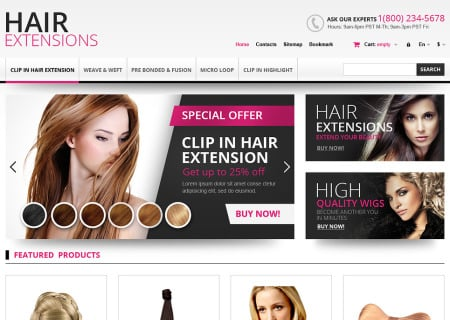 Hair Extensions Store