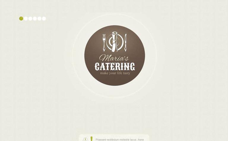 Moto CMS HTML Vorlage #45196 für Gastronomie