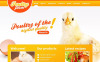 Plantilla Moto CMS HTML para Sitio de Granjas avícolas New Screenshots BIG