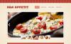 Prémium Európai étterem  Moto CMS HTML sablon New Screenshots BIG