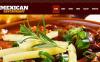 Prémium Mexikói étterem  Moto CMS HTML sablon New Screenshots BIG