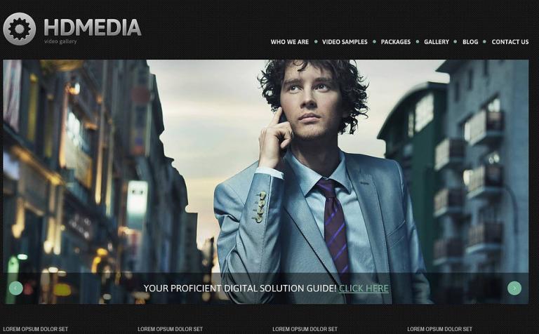Tema de WordPress #45163 para Sitio de Galerías de arte