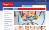Toys Store ZenCart Template New Screenshots BIG