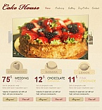 Food & Drink Facebook HTML CMS  Template 45205
