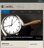 Facebook HTML CMS  Template 45210