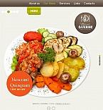 Food & Drink Facebook HTML CMS  Template 45211