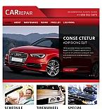 Cars Facebook HTML CMS  Template 45212