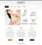 Jewelry Website  Template 45218