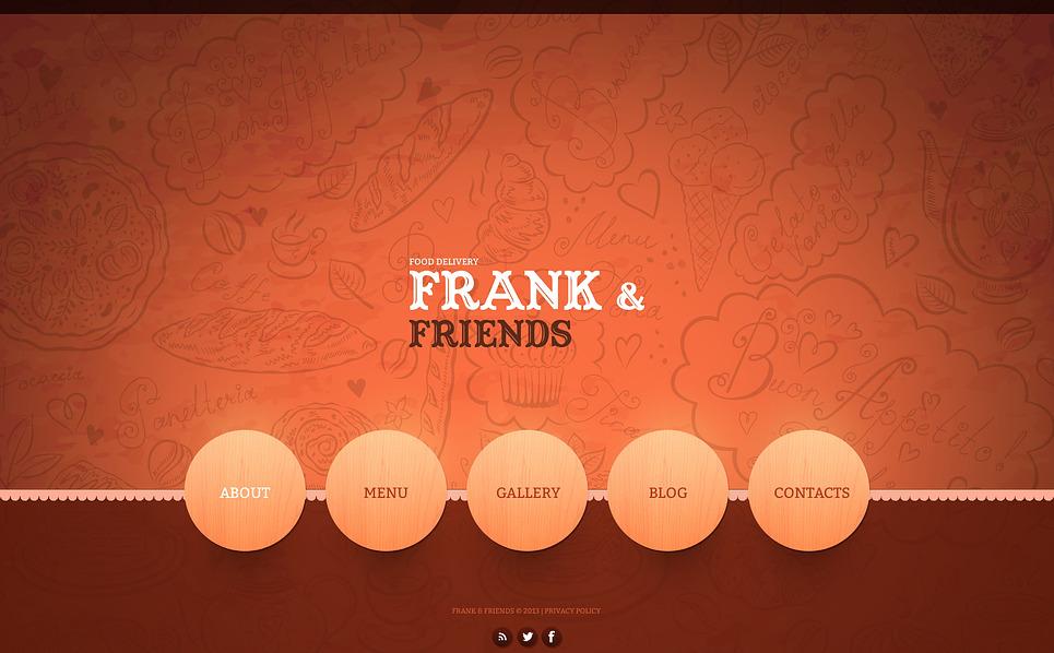 Bootstrap szablon strony www #45234 na temat: żywnościowe New Screenshots BIG