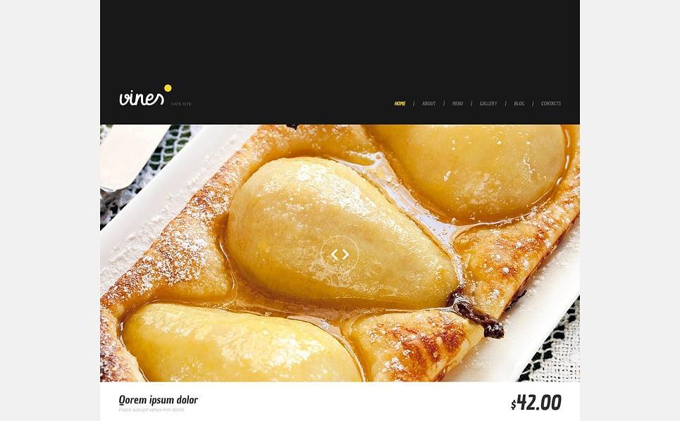 Responsive WordPress thema over Café  New Screenshots BIG