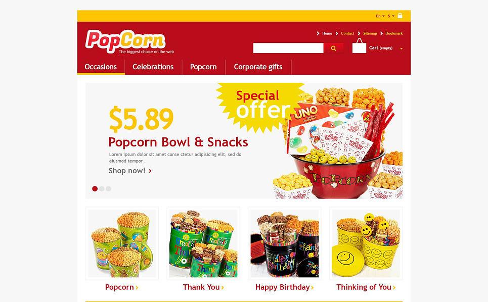 Tema PrestaShop  Flexível para Sites de Comida e Bebida №45244 New Screenshots BIG