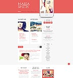 Personal Page Website  Template 45247
