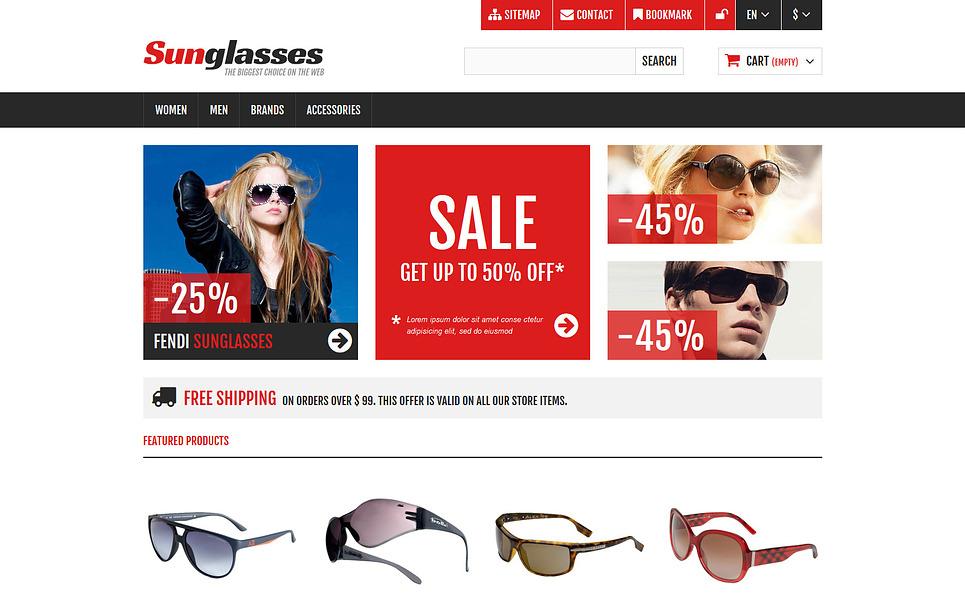 响应式PrestaShop模板 New Screenshots BIG
