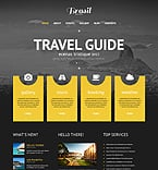 Travel WordPress Template 45263