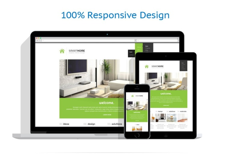 Modern Interior Design WordPress Theme #45267