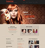 Entertainment WordPress Template 45269