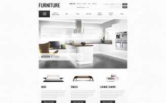 Furniture of the Future VirtueMart Template