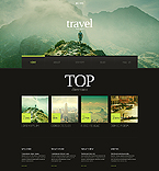 Travel Website  Template 45283