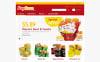 Адаптивний PrestaShop шаблон на тему їжа та напої New Screenshots BIG