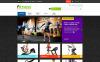Адаптивный PrestaShop шаблон №45243 на тему спортивный магазин New Screenshots BIG