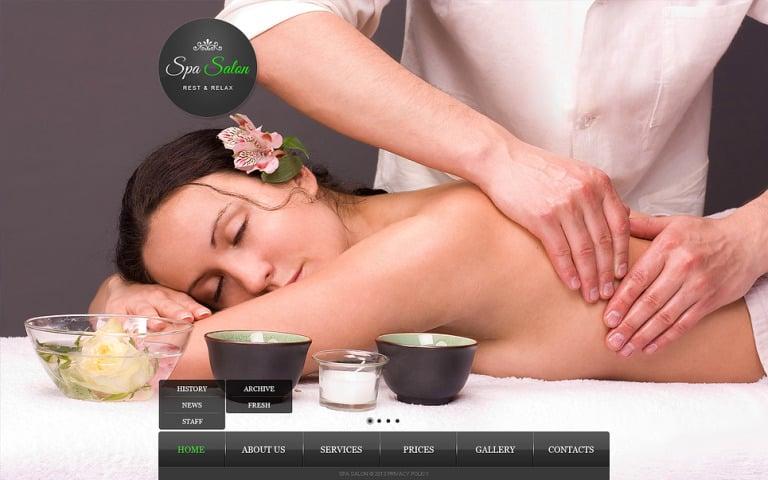 Beauty Salon Website Template New Screenshots BIG