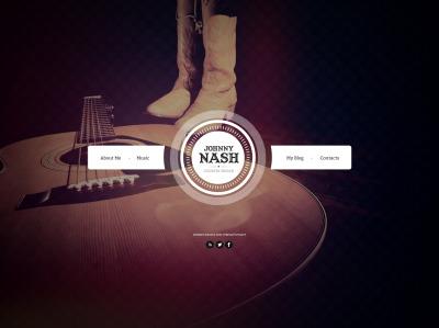 Bootstrap szablon strony www #45239 na temat: piosenkarz