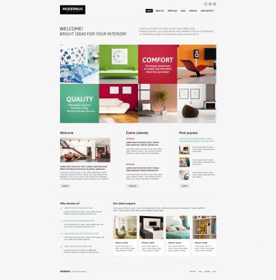 14 best interior design joomla templates