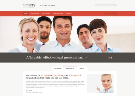 Law Firm Responsive