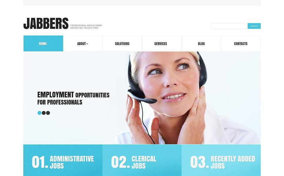 Modello WordPress Responsive #45242 per Un Sito di Relazioni Pubbliche New Screenshots BIG