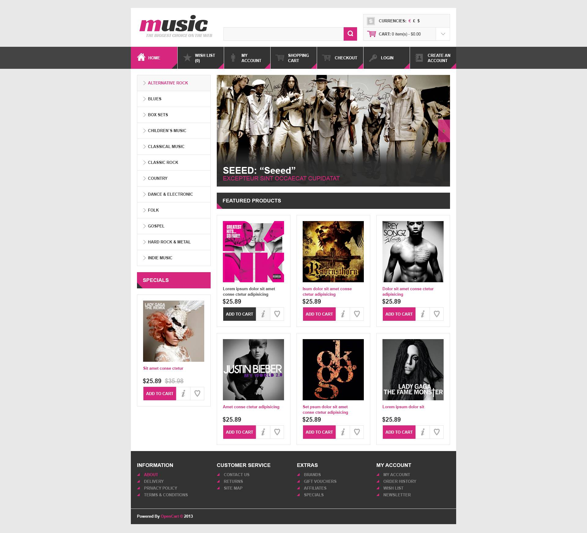 Music Album Template Aprildearest