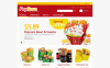 "PrestaShop Theme namens ""Responsive Pop Corn Store"" New Screenshots BIG"