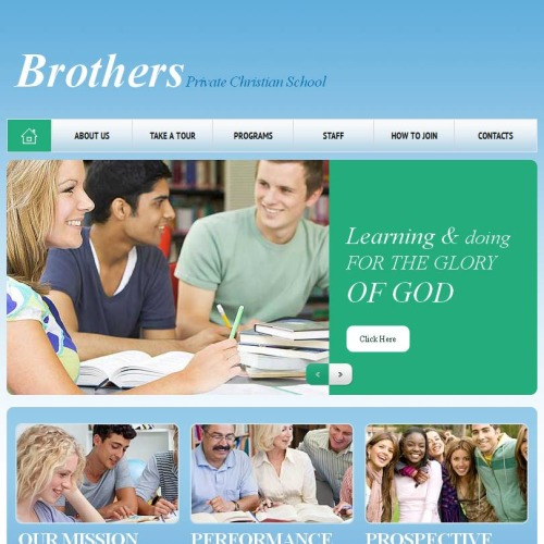 Brothers - Facebook HTML CMS Template