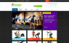"""Responsive Fitness Store"" Responsive PrestaShop Thema New Screenshots BIG"