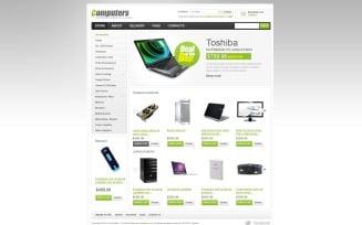 Simple Computers Store VirtueMart Template