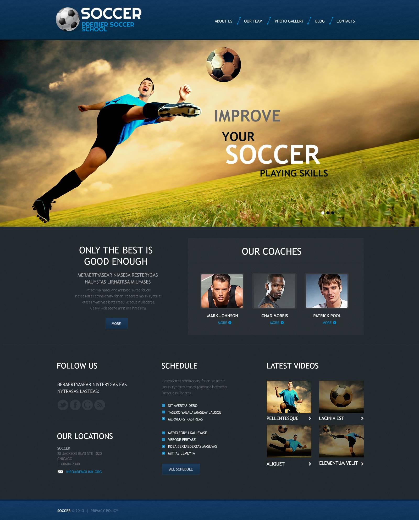 Soccer responsive wordpress theme 45268 soccer responsive wordpress theme toneelgroepblik Images