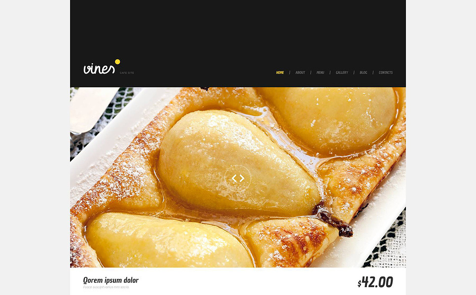 Tema WordPress Flexível para Sites de Cafeteria №45241 New Screenshots BIG