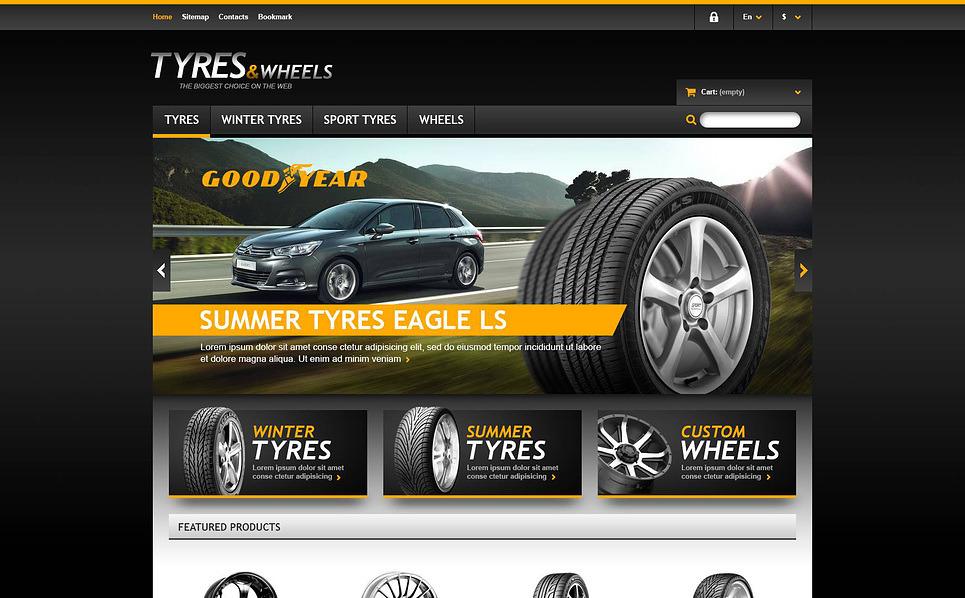 Responsives PrestaShop Theme für Räder & Reifen  New Screenshots BIG